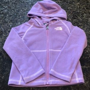 North Face 3t girls fleece jacket!